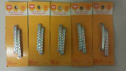 Vintage Barrettes Metal Stay Tight Unique Old Hard To Find Retro Items Nice