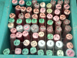 27 Rolls Of Very Fine Or Better Lincoln Wheat Cents. 1940-p To 1949-s.