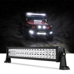 Led Light Bar 22/24'' Inch 280w Offroad Flood Spot Driving Ute Atv + Wires