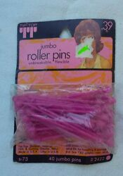 Vintage Roller/fasteners Pins Pack Of 40  Unique Old Hard To Find Items Nice