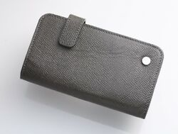 H3731M Dunhill Genuine Leather Business & Credit Card Case *Inner Good