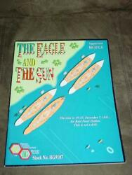 Fresno Gaming - The Eagle And The Sun Game- Wwii Pacific Unpunched +2 Bonuses