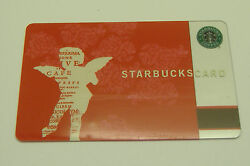 Starbucks Rare Collectible Cupid 2002 Used Card Great Cond Pin Intact