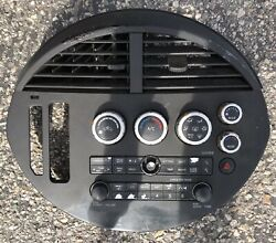 ✅ 04 05 06 Nissan Quest CD SAT Radio Player AC Climate Control Panel OEM Black