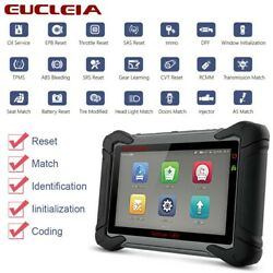 EUCLEIA S8M All System Scanner Diagnostic Tool ABS SRS DPF TPMS EPB Reset Tablet