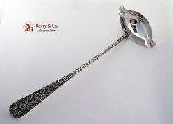 Repousse Punch Ladle Kirk And Son Sterling Silver 1940