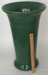 Bauer Pottery Very Large Olive Green Floor Vase Mint Umbrella Stand