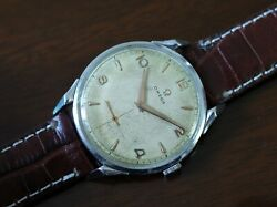 Vintage mens Omega 2603 manual wind spider lugs jumbo size condition very rare!!