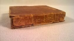 Antique 1817 Leather Book Sarah Trimmer's Set Of Prints Of English History