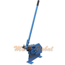 Plate Bar Section Metal Shear Cutter Round Square Strip Angle T Steel
