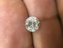 Igi Certified I I1 Natural Round Diamond 1.05ct Excellent Cut With Great Fire