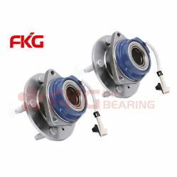 2 Front Wheel Hub Bearing For Chevy Buick Terraza Saturn Cadillac W/abs 513179