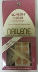 Vintage Press-on Nails Pack Of 20 Unique Old Hard To Find Retro Items Nice