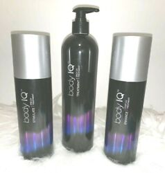 Body Iq Tanning Bed Lotion System Stimulate, Treatment, Enhance Bundle New