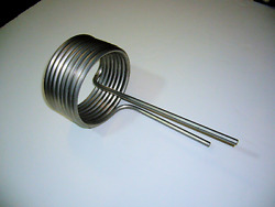 0.250 Id Stainless Steel Heating Cooling Tubing Coil, Chiller/heat Exchanger