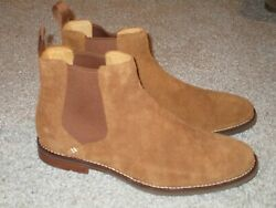 Sperry Gold Cup Mens Chelsea Suede Boots 9