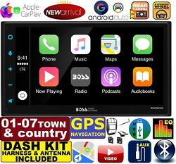 01-07 Caravan Town And Country Gps Navigation System Apple Carplay Android Auto