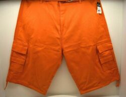 Evolution In Design Cargo Short Orange Size 42W  FREE SHIPPING BRAND NEW