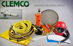 Clemco Classic Blast Machine And Apollo Hp Respirator Safety Accessory Package 2