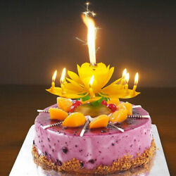 Candle Party - Disney Planes Birthday Magic Flower Lotus Musical Turntable -