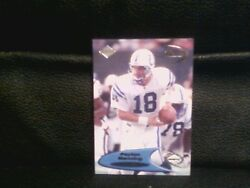 1998 Peyton Manning Collectors Edge Odyssey 1st-4th Quarter Rookie Card