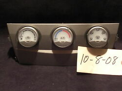 2009 2010 2011 Toyota Camry Se Le Factory Oem Climate Control Rear Defrost