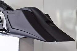 09-13 Harley Stretched Saddle Bags Overlay Fender For Touring Flh 6 No Li