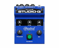 Radial Studio-Q Studio Talkback Controller with Built-In Mic and External Input