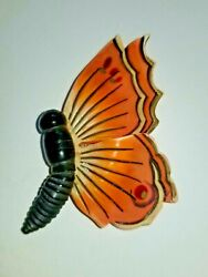 Rare Antique French Art Deco Celluloid Handpainted Butterfly Brooch