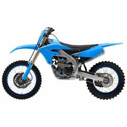 Yamaha Yz250f Yz450f Acerbis Full Plastic Kit Without Tank Cover Light Blue