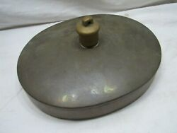 Antique Dovetailed Copper Hot Water Bed Warmer Winter Feet Bottle