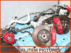 2003-2007 MITSUBISHI LANCER EVO 7 DIFFERENTIAL BREMBO BRAKES SUBFRAME AXLES