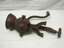 L.f And C New Britain Conn Crown Coffee Grinder Mill Landers Frary Clark Farm Tool