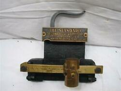 Unique The Standard Scale And Supply Co Beam Scale Salesman Sample Brass Iron Tool
