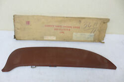 Nos Fomoco 1959 Ford Galaxie Fairline Fender Skirt Accessory Driver Size Only