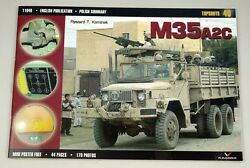 1/6 Scale 12 Diecast M35 A2 U.s2.5 Ton Truck Weapons Carrier With Gun