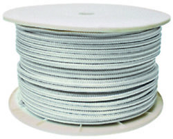 Seachoice 47040 White Double Braid Line Rope 1x600and039 Dock Anchor Mooring Lc
