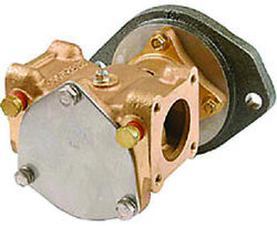 Sherwood P1732c Water Cooling Pump For Caterpillar 3126 Engines Inboard Boat Lc