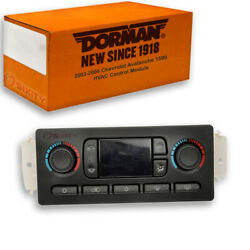 Dorman Rear HVAC Control Module for Chevy Avalanche 1500 2003-2006 - Heating cp