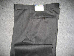 Polo Mens Slacks Pants New Nwt 395 Sale Size 33 Grey Made In Italy