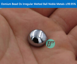Osmium Bead Os Irregular Melted Ball 10g Noble Metals Andge99.95