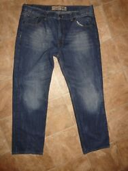 Men's Red Snap Jeans Size 40x32