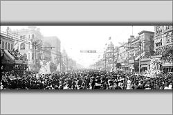 Poster Many Sizes The Rex Pageant Mardi Gras Day New Orleans La. C 1907