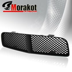 New Dodge Charger 06-10 Crossweave Abs Front Bumper Hood Mesh Grille Grill Black