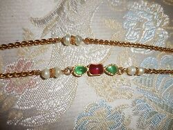 chanel Gripoix necklace longTHEY DONT MAKE PIECES LIKE THIS ANY LONGER