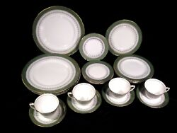 Royal Worcester Regency Fine Bone China 5 Piece Place Setting For 4,total 21 Pcs