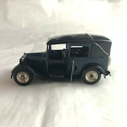 Vintage Pre-war Minic Toys Tri-ang Wind-up W/key Taxi Cab England