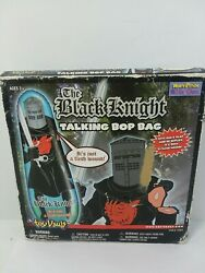Monty Python And The Holy Frail The Black Knight Talking Bop Bag Out Of Print