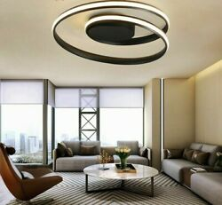 Ceiling Indoor Light Lamps Home Interior Round Modern Led Surface Mount Fixtures
