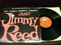 Jimmy Reed Just... Lp 1962 1st Press Stereo In Shrink Howlin Wolf Slim Harpo